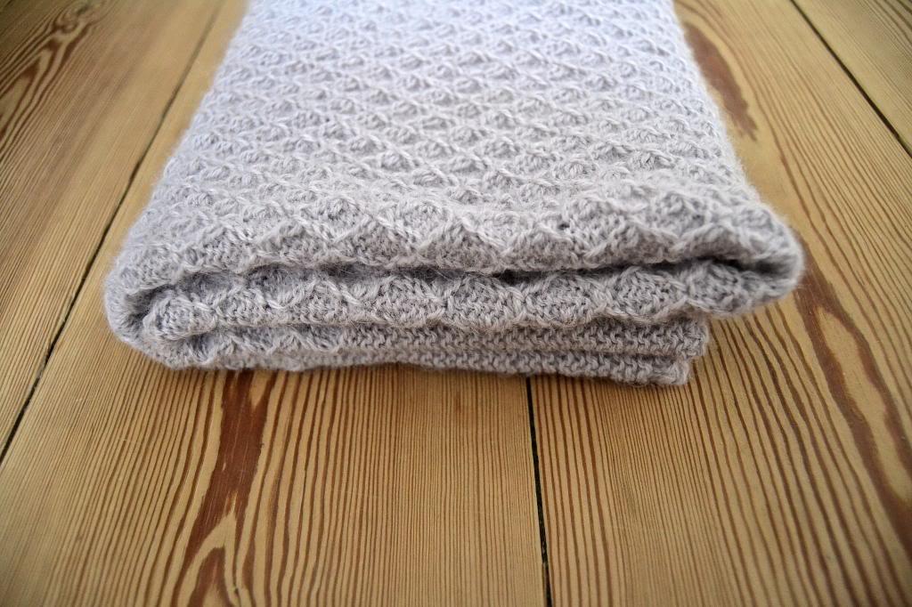 opskrifter på strikkede tæpper